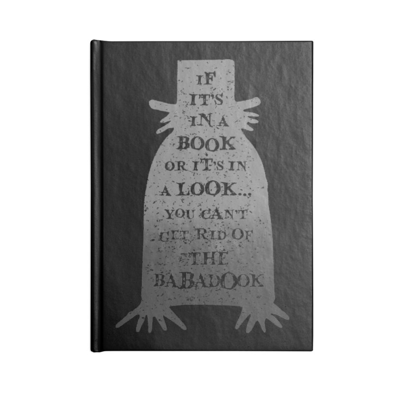 Babadook Accessories Blank Journal Notebook by ninthstreetdesign's Artist Shop