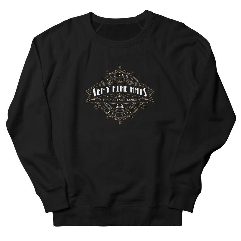 Badger's Hats Men's French Terry Sweatshirt by ninthstreetdesign's Artist Shop
