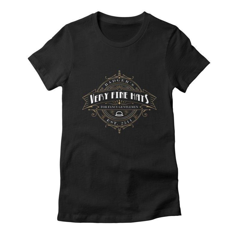 Badger's Hats Women's T-Shirt by ninthstreetdesign's Artist Shop