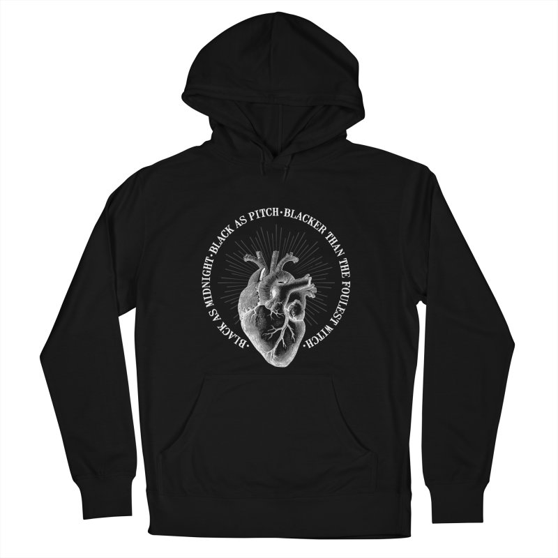Blacker than the foulest witch Women's Pullover Hoody by ninthstreetdesign's Artist Shop