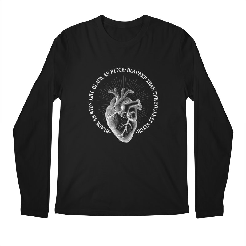 Blacker than the foulest witch Men's Longsleeve T-Shirt by ninthstreetdesign's Artist Shop
