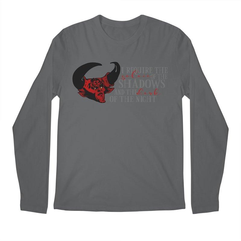 Darkness Men's Regular Longsleeve T-Shirt by ninthstreetdesign's Artist Shop