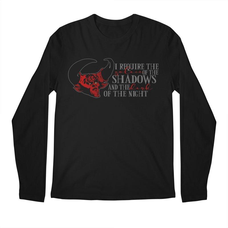 Darkness Men's Longsleeve T-Shirt by ninthstreetdesign's Artist Shop