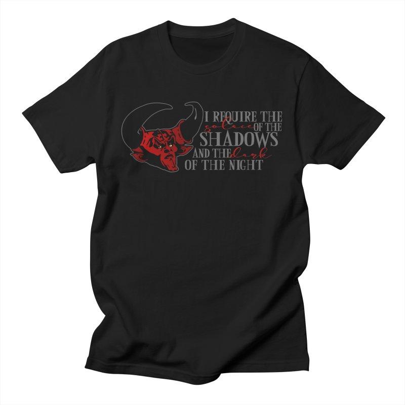 Darkness Women's Regular Unisex T-Shirt by ninthstreetdesign's Artist Shop