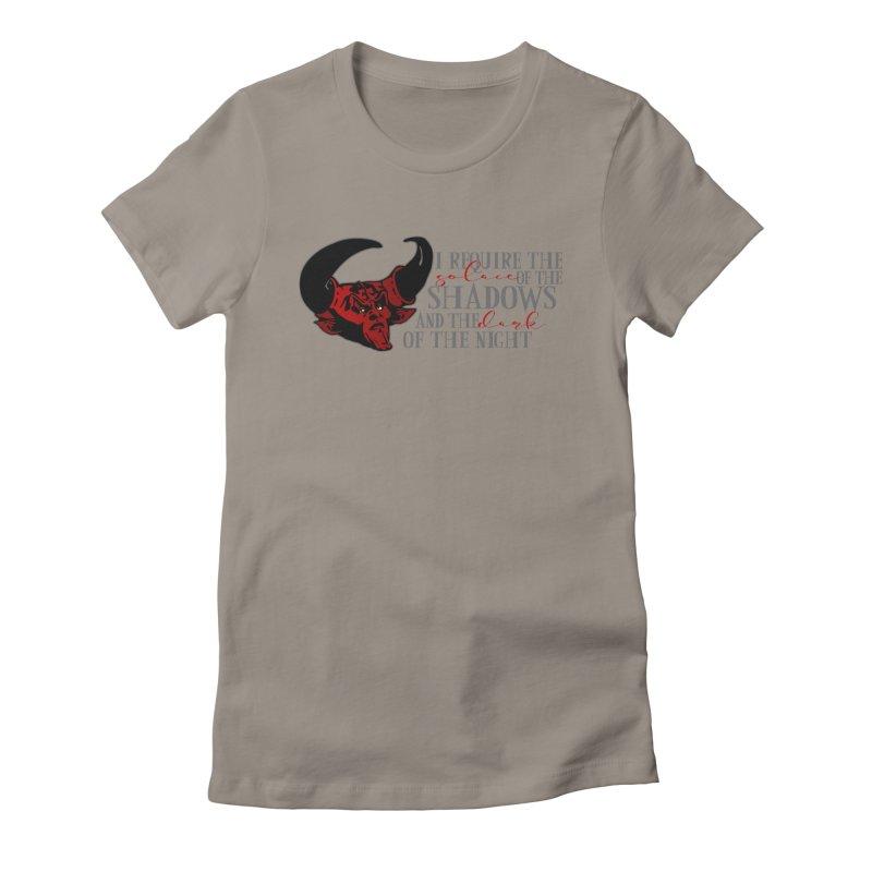 Darkness Women's T-Shirt by ninthstreetdesign's Artist Shop