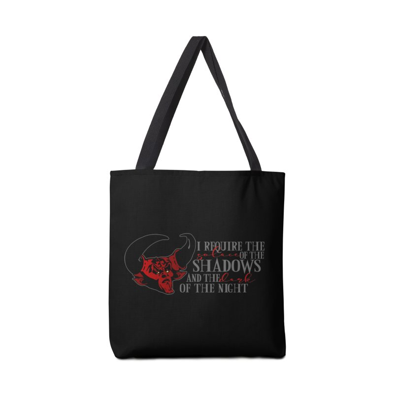 Darkness Accessories Tote Bag Bag by ninthstreetdesign's Artist Shop