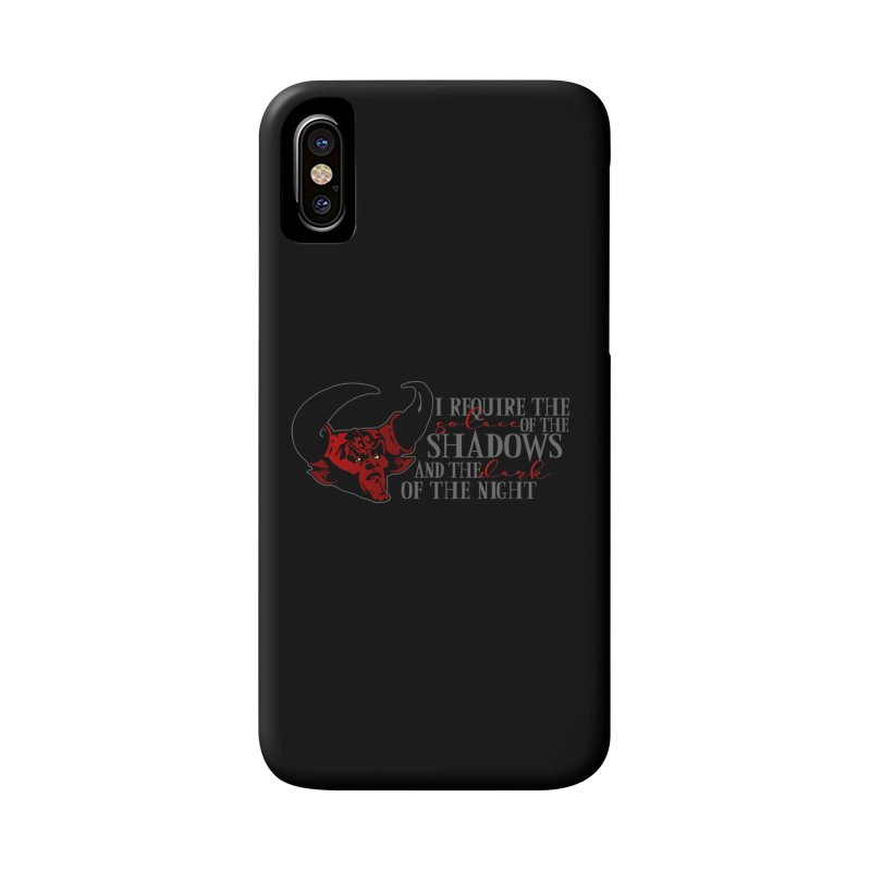 Darkness Accessories Phone Case by ninthstreetdesign's Artist Shop