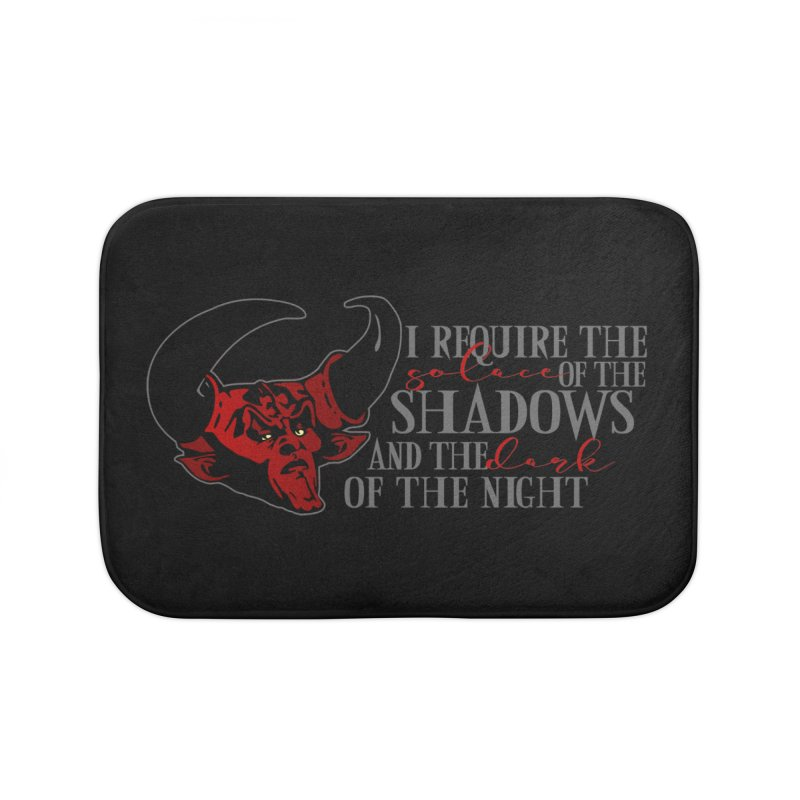 Darkness Home Bath Mat by ninthstreetdesign's Artist Shop