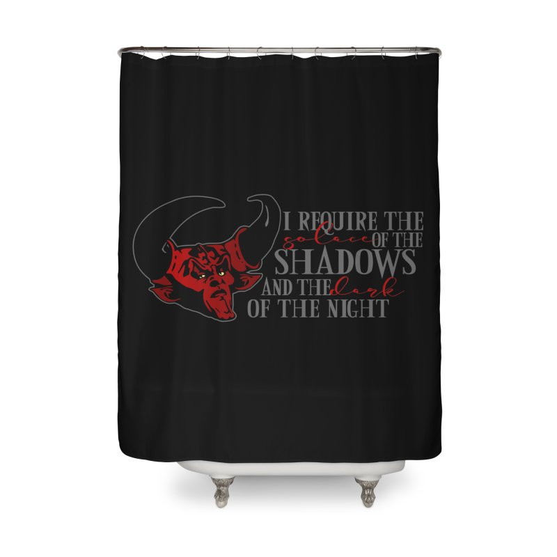 Darkness Home Shower Curtain by ninthstreetdesign's Artist Shop