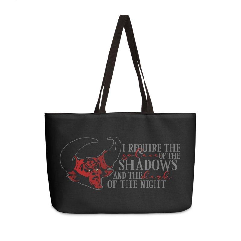 Darkness Accessories Bag by ninthstreetdesign's Artist Shop
