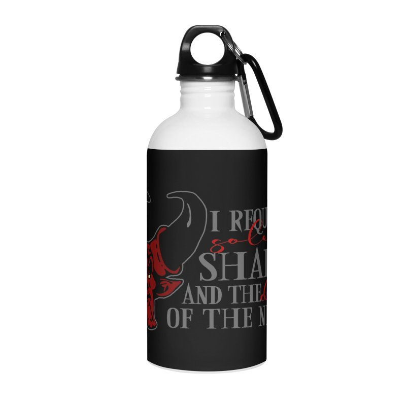 Darkness Accessories Water Bottle by ninthstreetdesign's Artist Shop