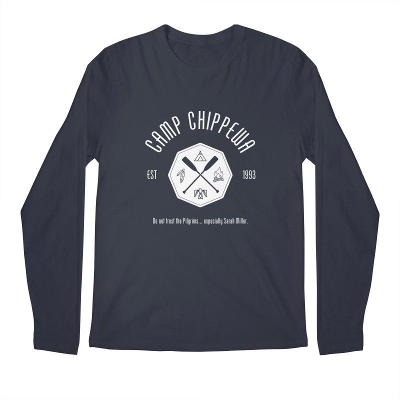 Camp Chippewa Men's Longsleeve T-Shirt by ninthstreetdesign's Artist Shop