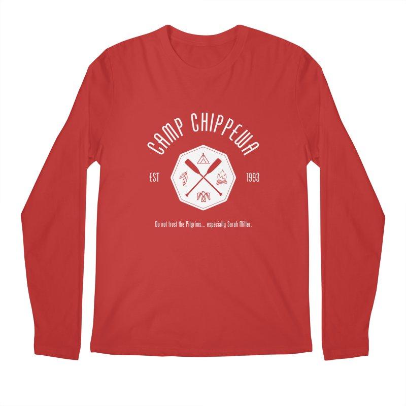 Camp Chippewa Men's Regular Longsleeve T-Shirt by ninthstreetdesign's Artist Shop
