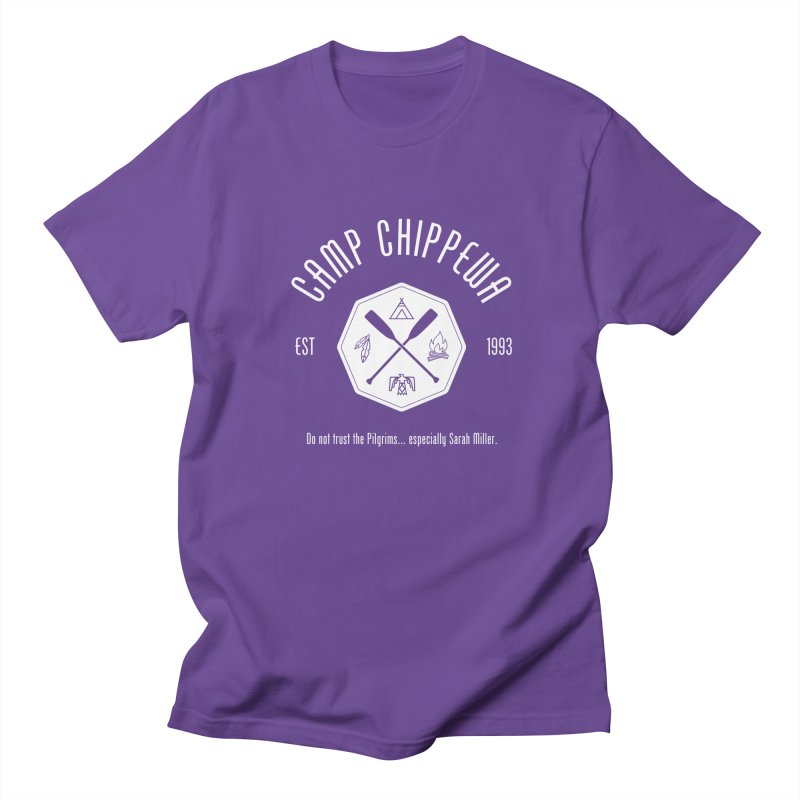 Camp Chippewa Women's Regular Unisex T-Shirt by ninthstreetdesign's Artist Shop
