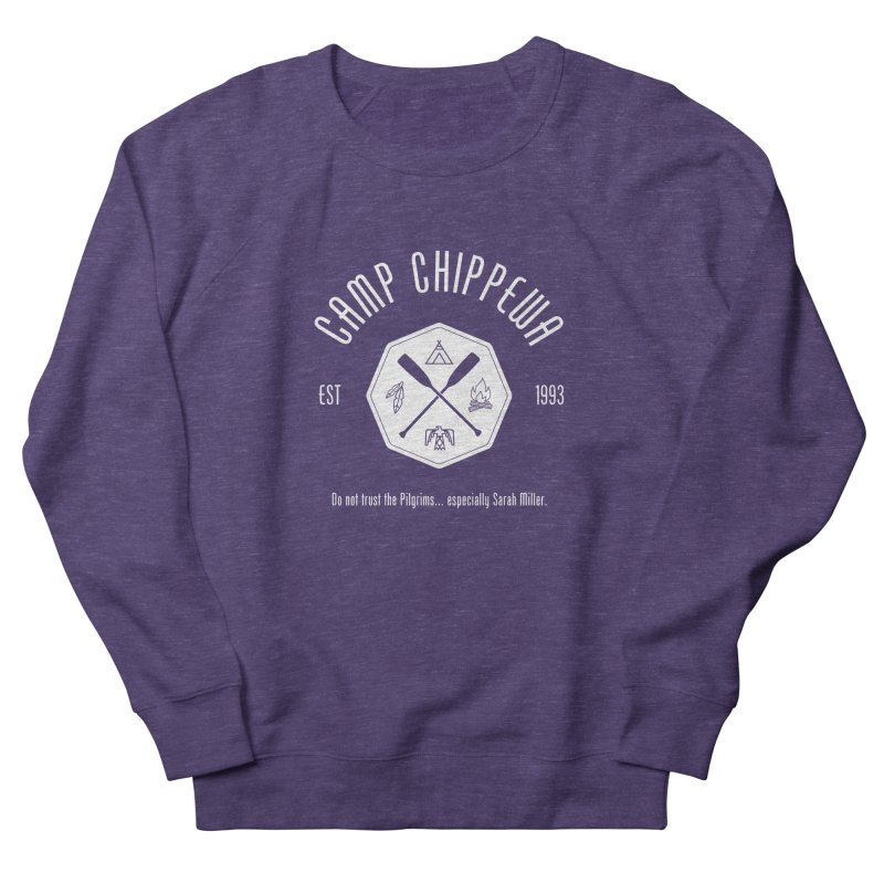 Camp Chippewa Women's French Terry Sweatshirt by ninthstreetdesign's Artist Shop