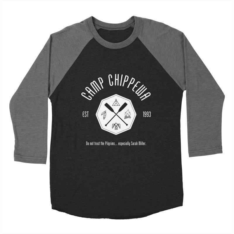 Camp Chippewa Men's Baseball Triblend T-Shirt by ninthstreetdesign's Artist Shop