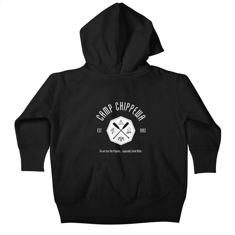 Camp Chippewa Kids Baby Zip-Up Hoody by Ninth Street Design's Artist Shop