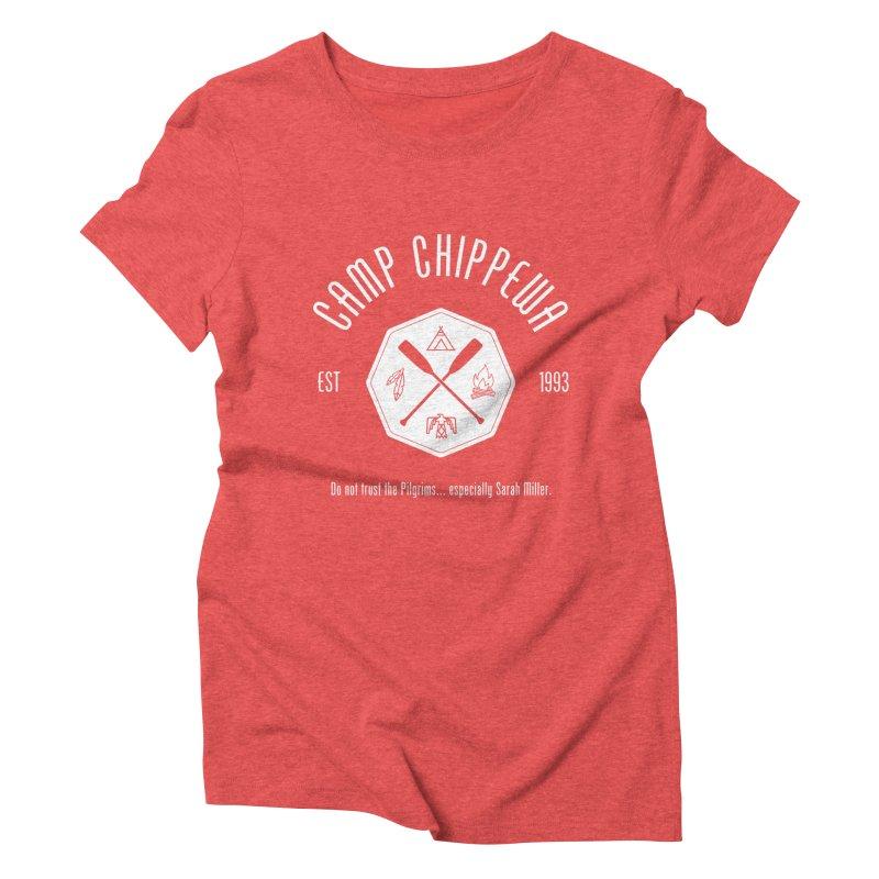 Camp Chippewa Women's Triblend T-Shirt by ninthstreetdesign's Artist Shop