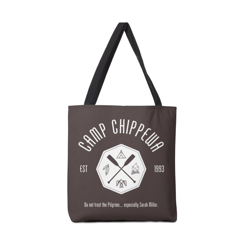 Camp Chippewa Accessories Tote Bag Bag by ninthstreetdesign's Artist Shop