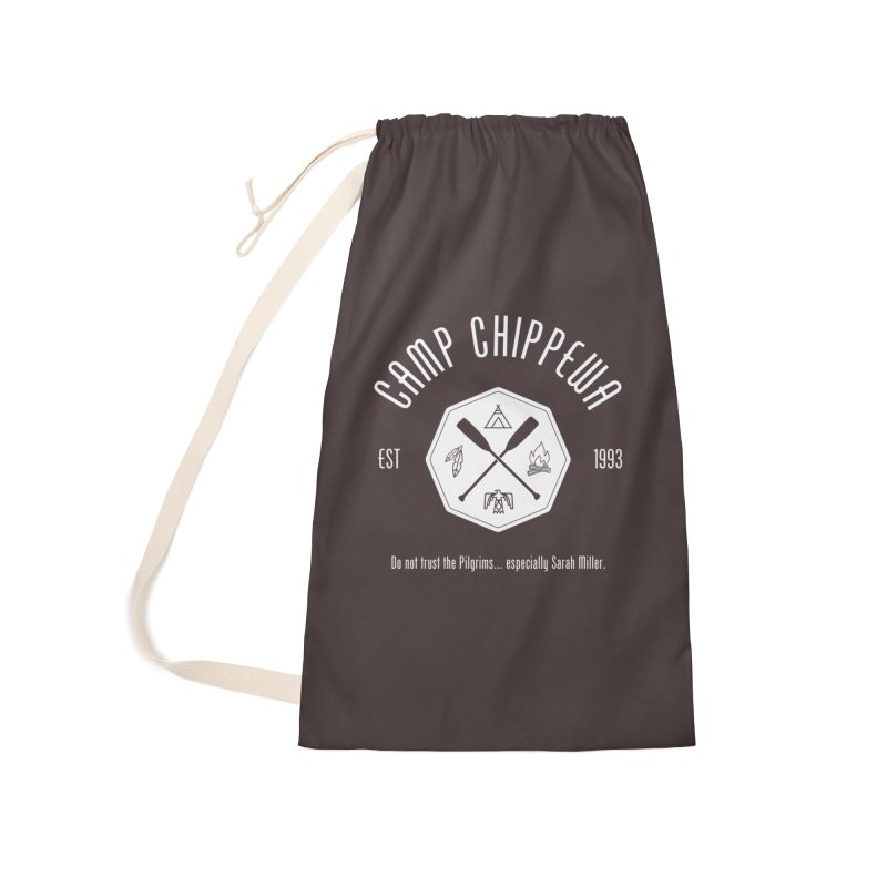 Camp Chippewa Accessories Laundry Bag Bag by ninthstreetdesign's Artist Shop