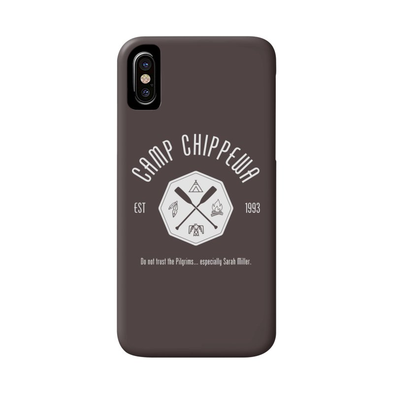 Camp Chippewa Accessories Phone Case by ninthstreetdesign's Artist Shop