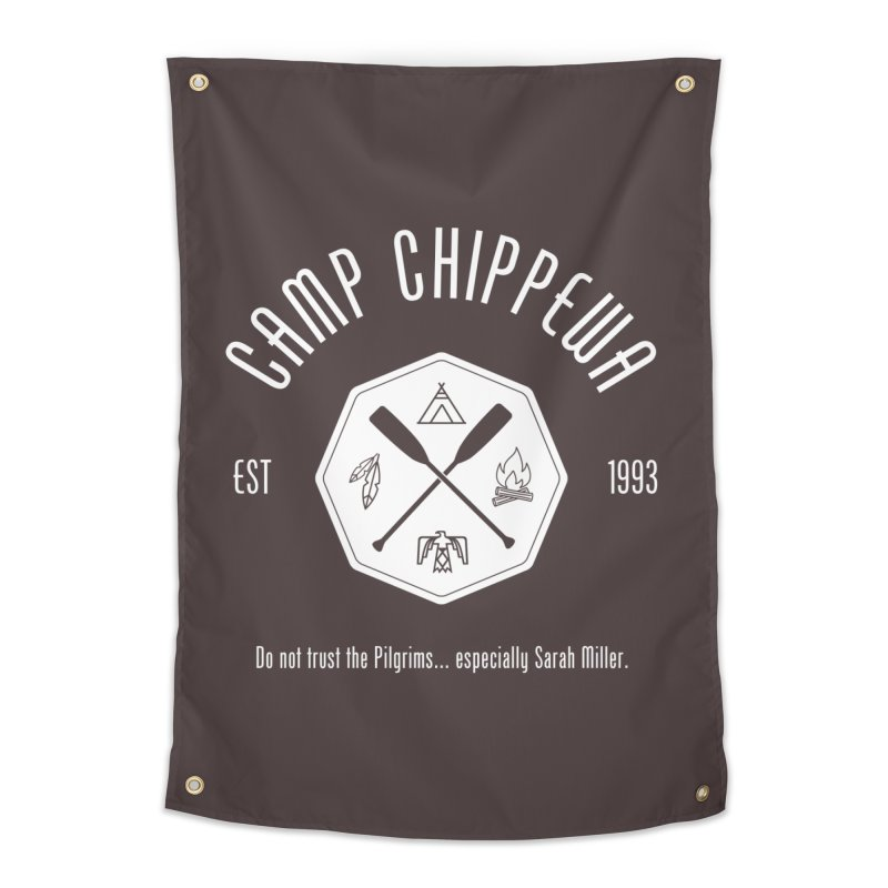 Camp Chippewa Home Tapestry by ninthstreetdesign's Artist Shop