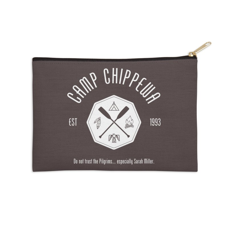 Camp Chippewa Accessories Zip Pouch by ninthstreetdesign's Artist Shop
