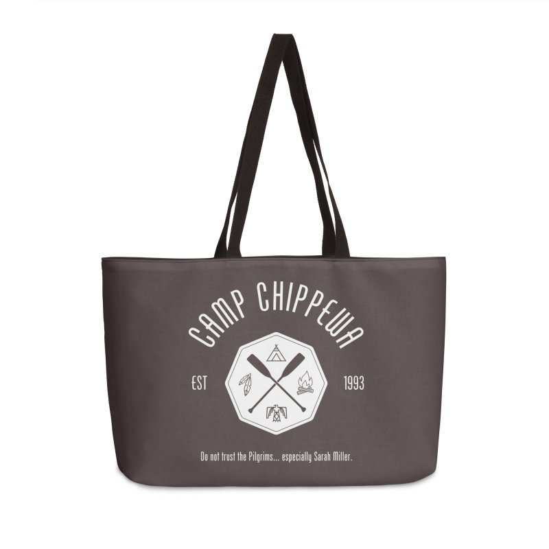 Camp Chippewa Accessories Weekender Bag Bag by ninthstreetdesign's Artist Shop