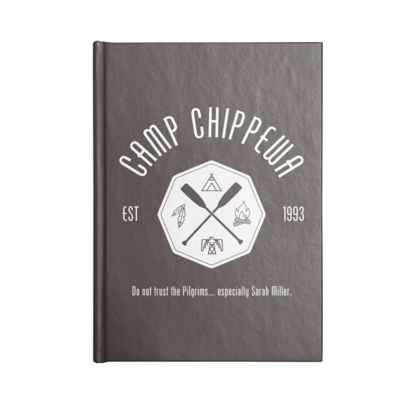 Camp Chippewa Accessories Notebook by ninthstreetdesign's Artist Shop