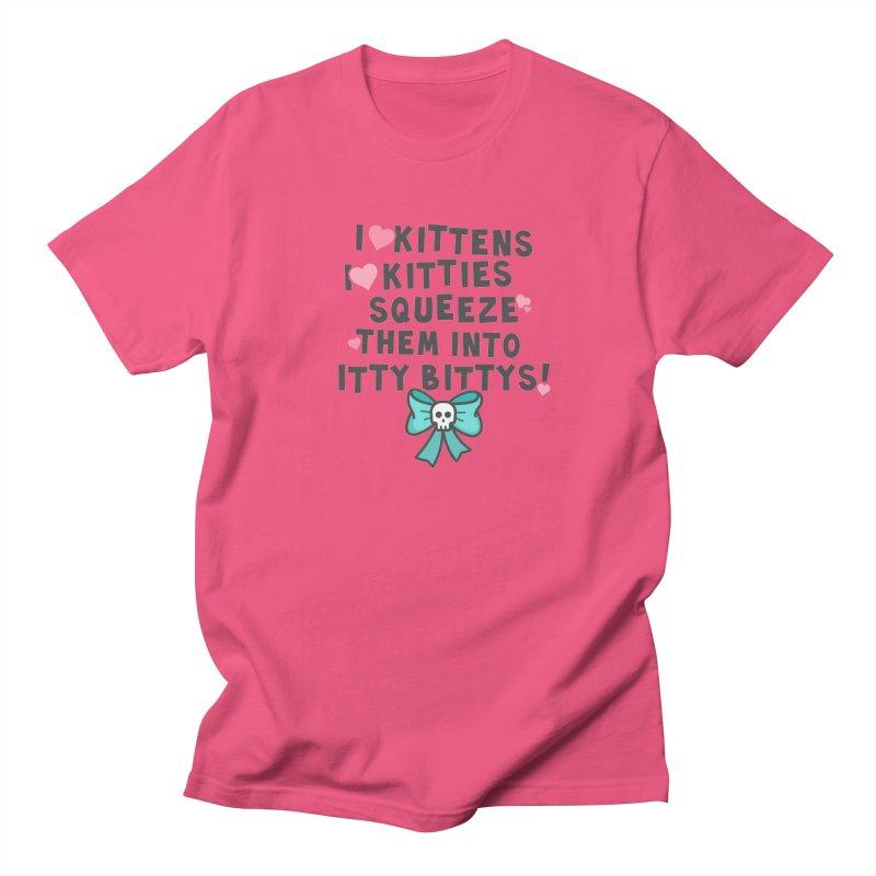 I <3 Kitties Women's Unisex T-Shirt by ninthstreetdesign's Artist Shop