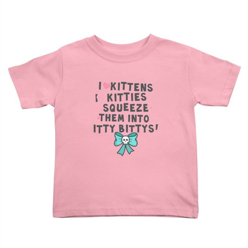 I <3 Kitties Kids Toddler T-Shirt by ninthstreetdesign's Artist Shop