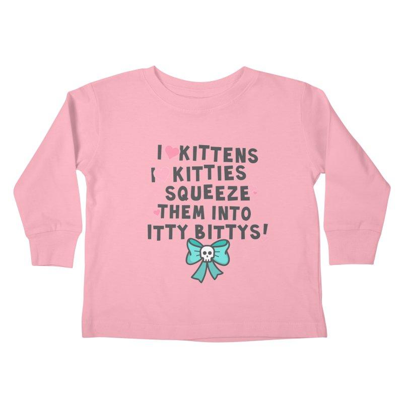 I <3 Kitties Kids Toddler Longsleeve T-Shirt by ninthstreetdesign's Artist Shop