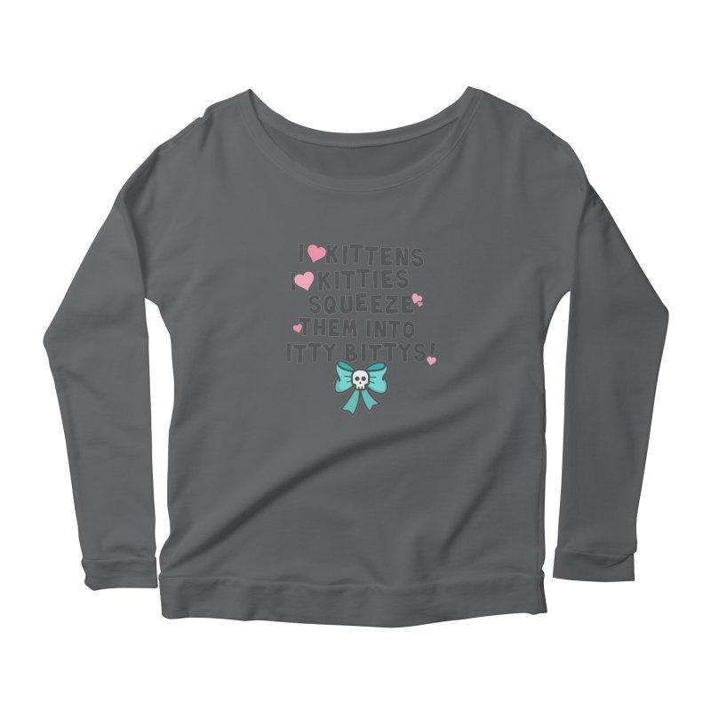 I <3 Kitties Women's Longsleeve T-Shirt by ninthstreetdesign's Artist Shop