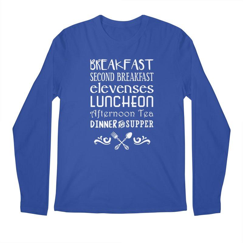 Hobbit diet Men's Regular Longsleeve T-Shirt by ninthstreetdesign's Artist Shop