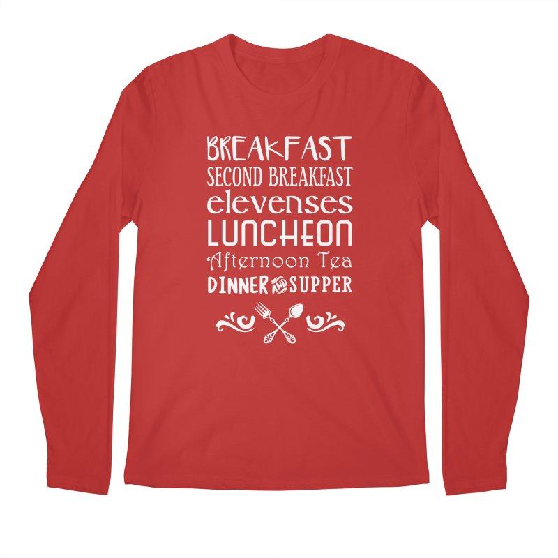 Hobbit diet Men's Longsleeve T-Shirt by ninthstreetdesign's Artist Shop