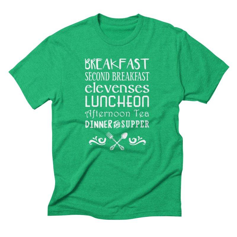 Hobbit diet Men's Triblend T-Shirt by ninthstreetdesign's Artist Shop