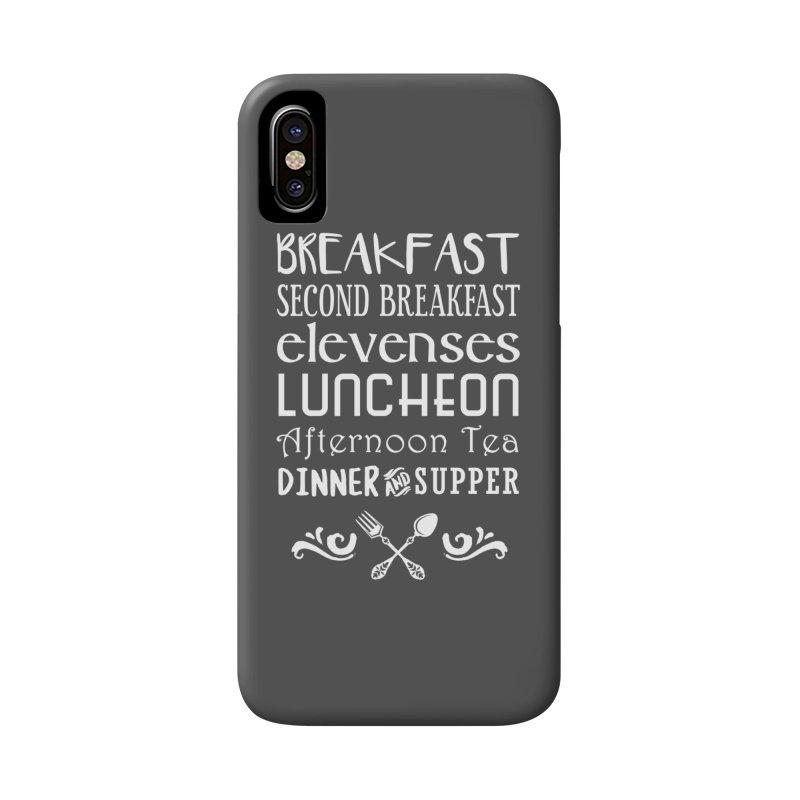 Hobbit diet Accessories Phone Case by ninthstreetdesign's Artist Shop