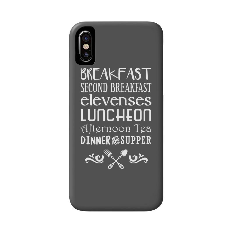 Hobbit diet Accessories Phone Case by ninthstreetdesign's Artist Shop