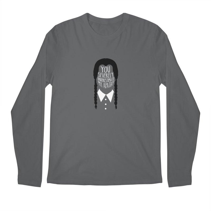 Wednesday Men's Regular Longsleeve T-Shirt by ninthstreetdesign's Artist Shop