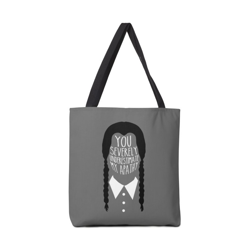 Wednesday Accessories Tote Bag Bag by ninthstreetdesign's Artist Shop