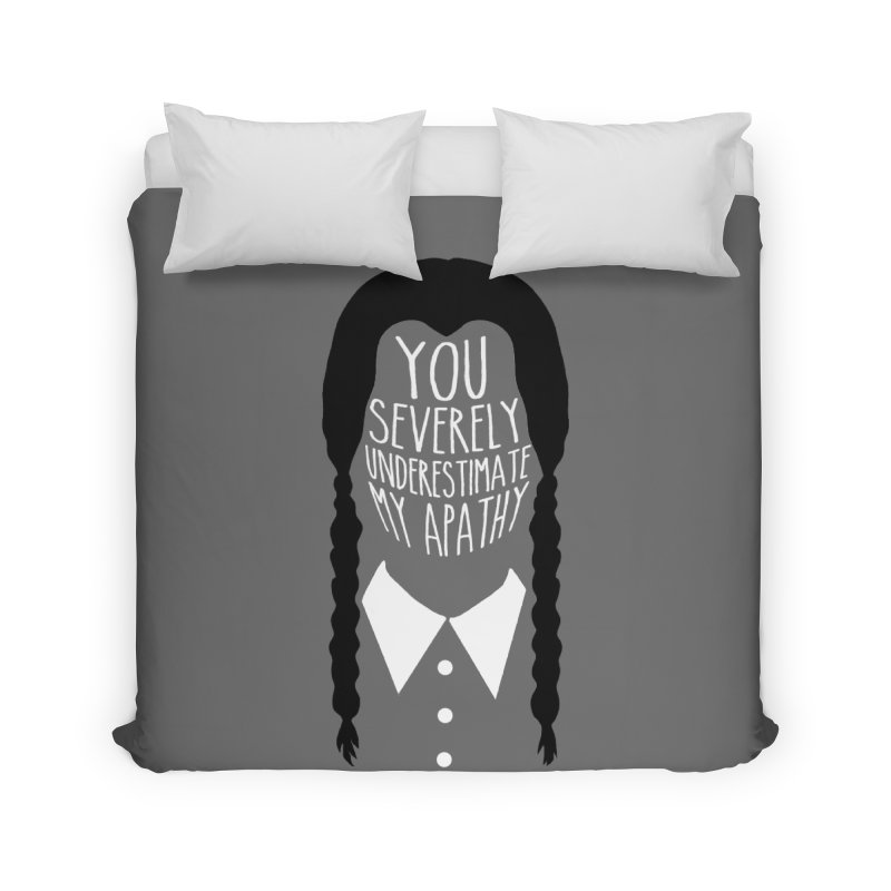 Wednesday Home Duvet by ninthstreetdesign's Artist Shop