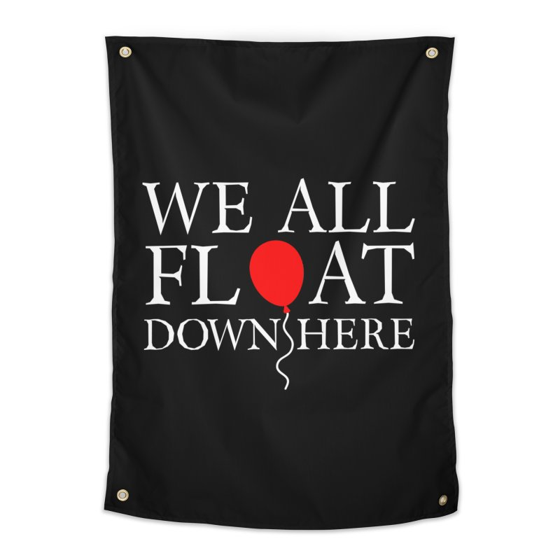 We all float down here Home Tapestry by ninthstreetdesign's Artist Shop
