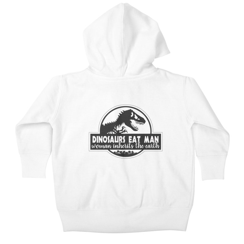 Dinosaurs eat man Kids Baby Zip-Up Hoody by ninthstreetdesign's Artist Shop