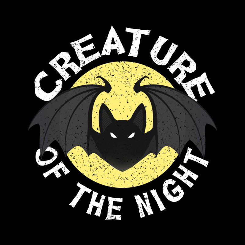 Creature of the night Men's T-Shirt by Ninth Street Design's Artist Shop