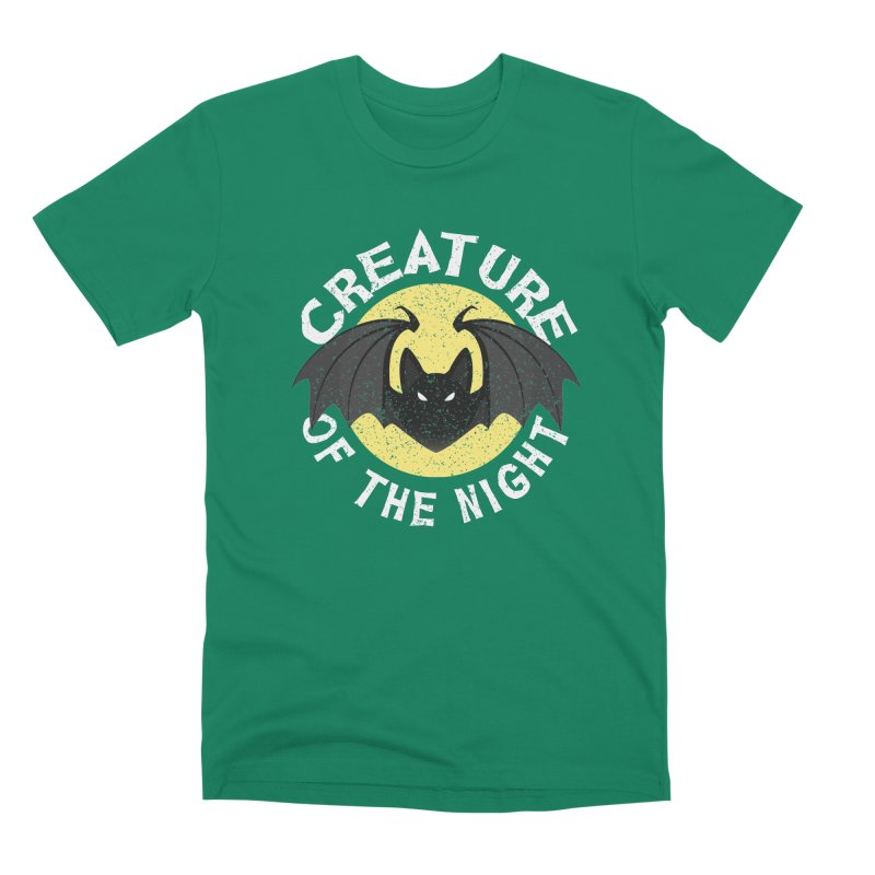 Creature of the night Men's Premium T-Shirt by Ninth Street Design's Artist Shop