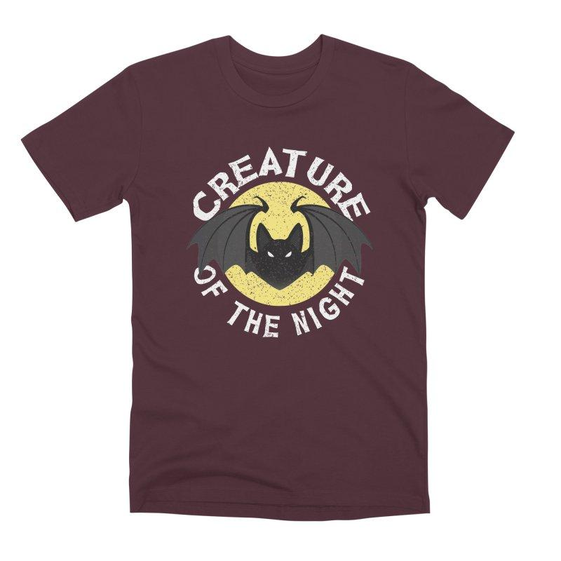 Creature of the night Men's Premium T-Shirt by Ninth Street Design's Artist Shop