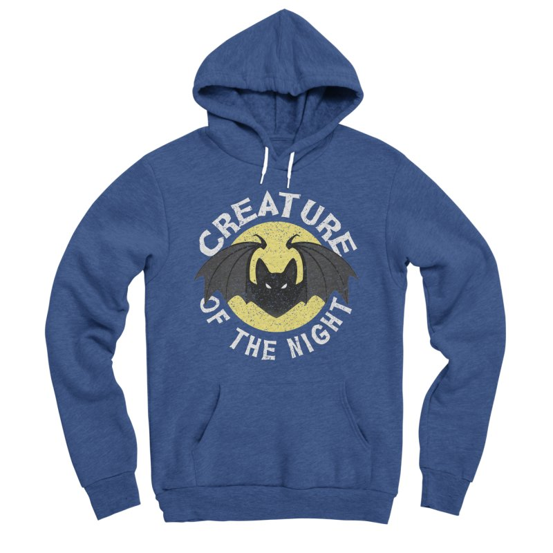 Creature of the night Women's Sponge Fleece Pullover Hoody by Ninth Street Design's Artist Shop