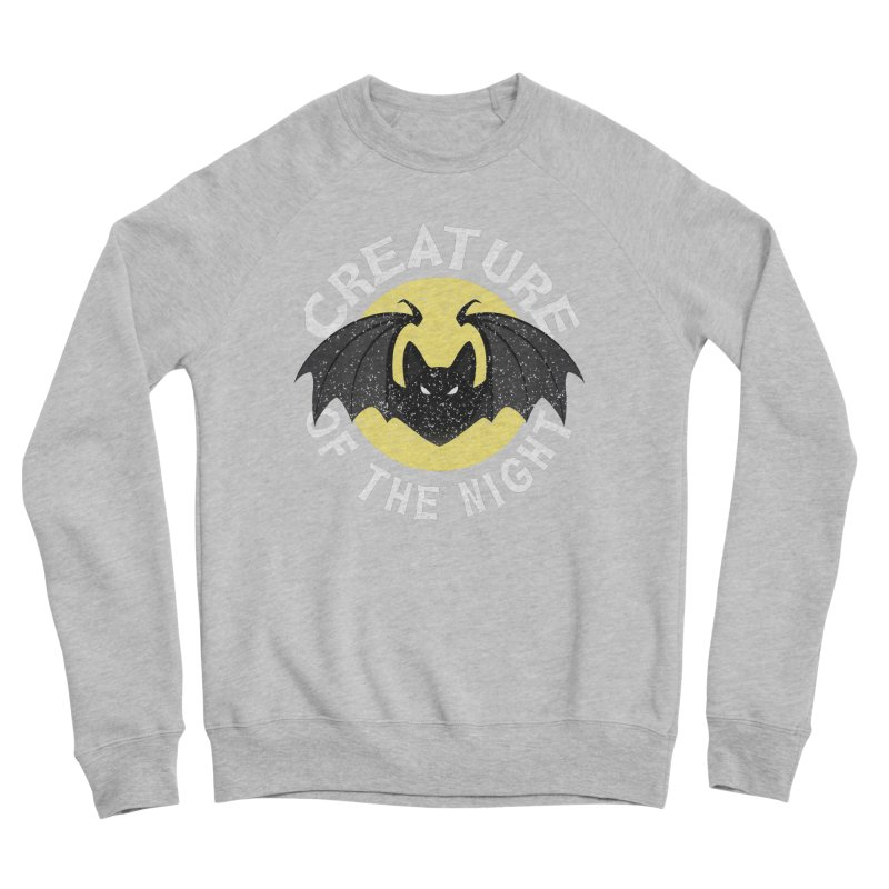 Creature of the night Men's Sponge Fleece Sweatshirt by Ninth Street Design's Artist Shop