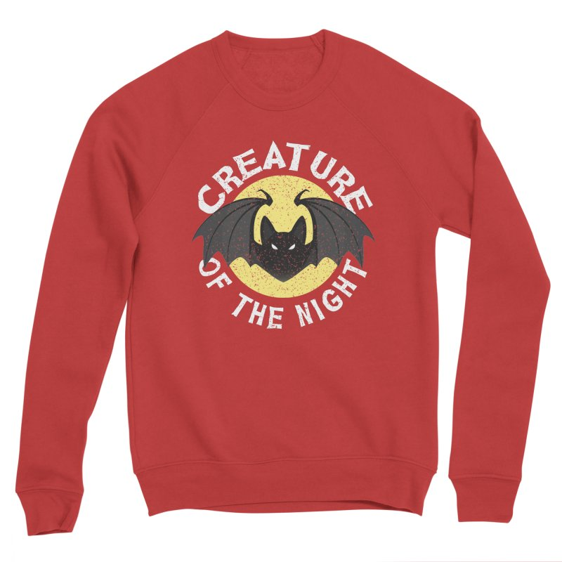 Creature of the night Women's Sponge Fleece Sweatshirt by Ninth Street Design's Artist Shop