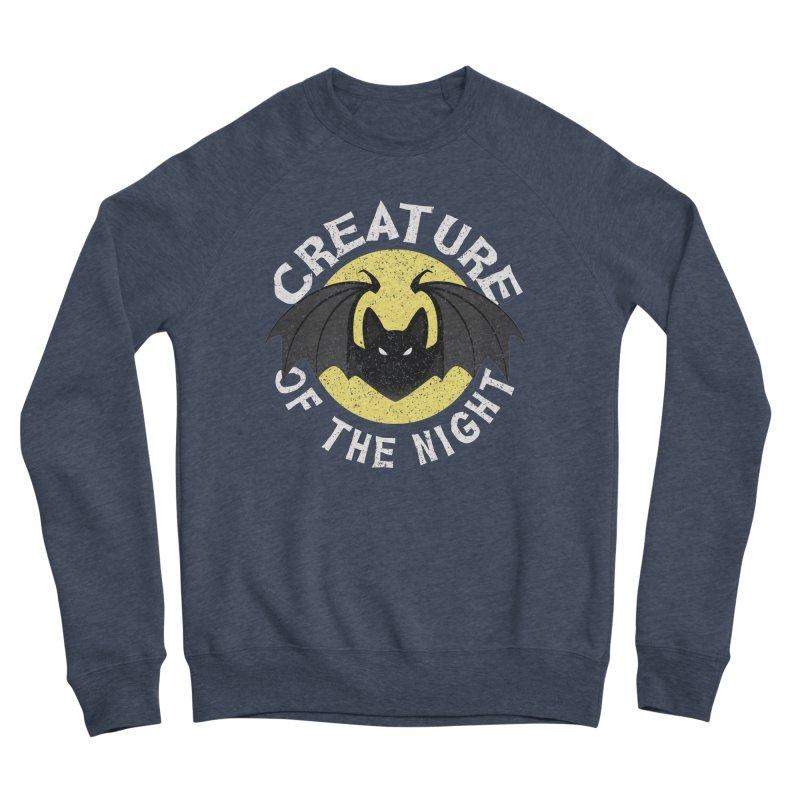 Creature of the night Men's Sponge Fleece Sweatshirt by Ninth Street Design's Artist Shop